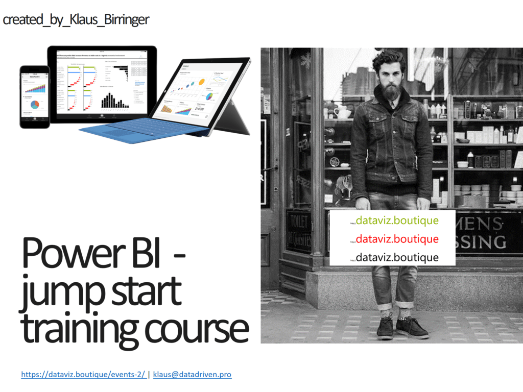 Power BI Jump Start Training course